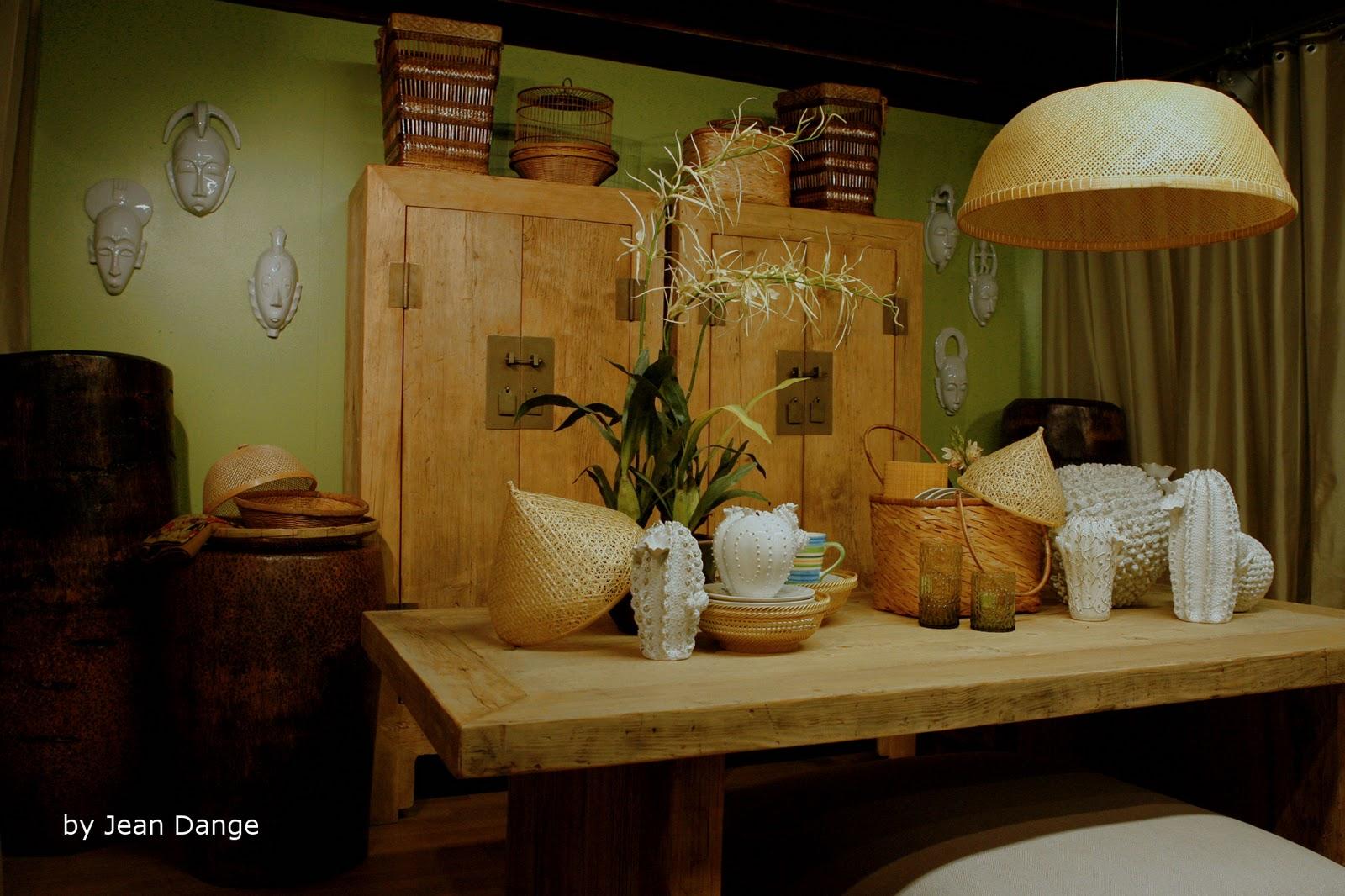 jean dange wood and rattan bois et rotin. Black Bedroom Furniture Sets. Home Design Ideas