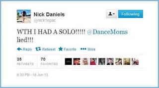 Nick Daniels Twitter