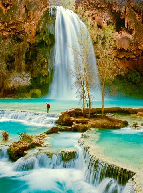 Havasu falls in arizona USA