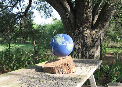 Porcelain Globe 'Entrapment' G N O'Dell 2008
