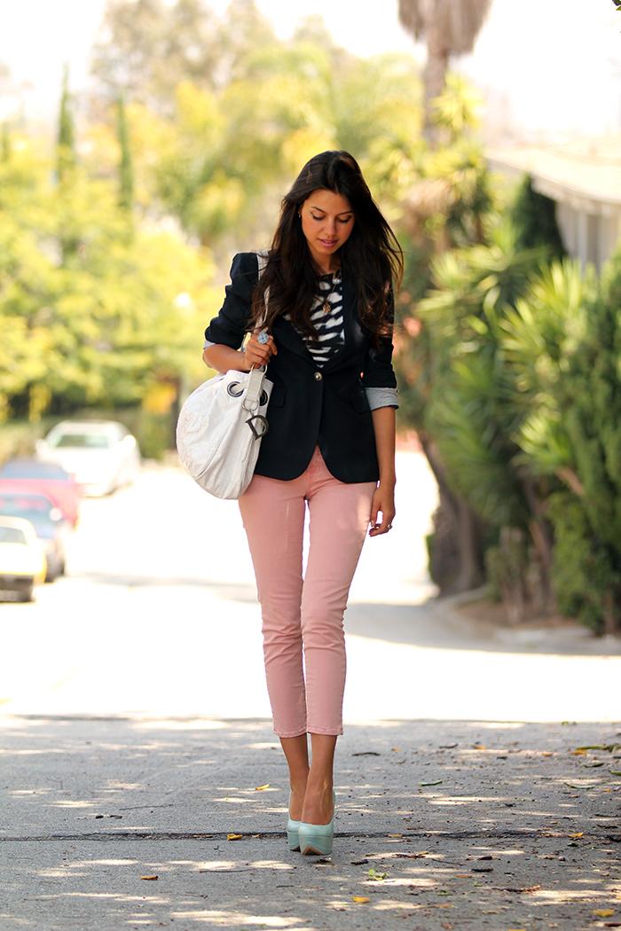 Vivaluxury Fashion Blog By Annabelle Fleur Pink Jeans