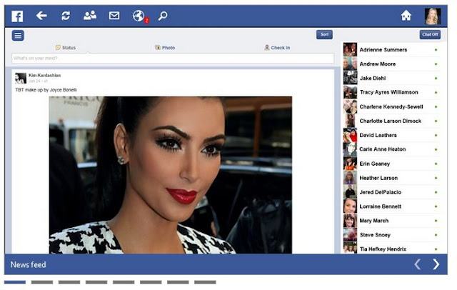 Download Facebook Touch for Windows 8