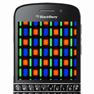 Amoled in BlackBerry Q10
