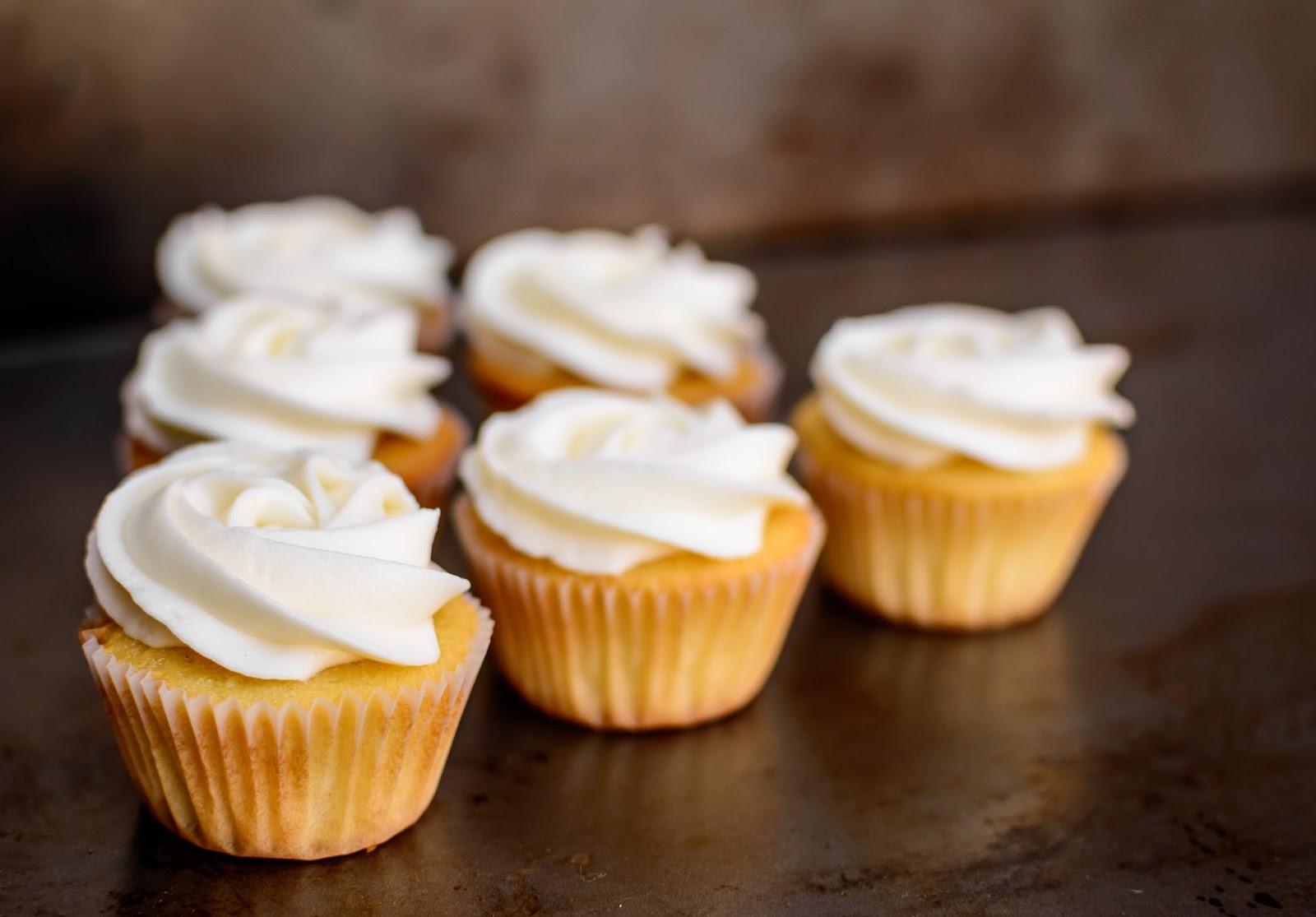 All Food Considered: Mini Vanilla Bean Cupcakes