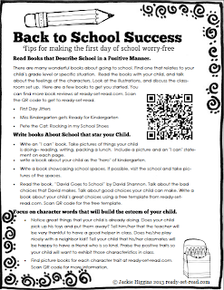 back to school ideas, free printable
