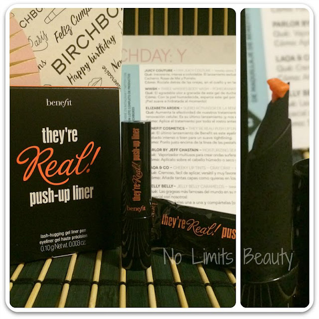 Birchbox Septiembre 2015 - Benefit They're Real - Push Up Liner