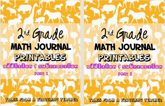 http://www.teacherspayteachers.com/Product/Math-Journals-Addition-and-Subtraction-for-Second-Grade-Part-1-1369808