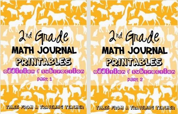 http://www.teacherspayteachers.com/Product/Math-Journals-Addition-and-Subtraction-for-Second-Grade-Part-1-1369808
