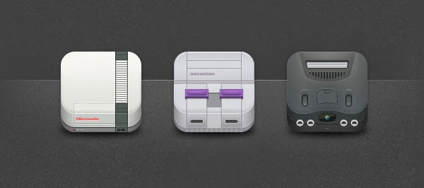 Nintendo Icons for Iphone