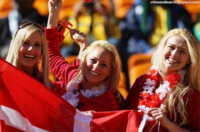 Cute Danish Girls Euro 2012 Denmark Hd Desktop Wallpaper