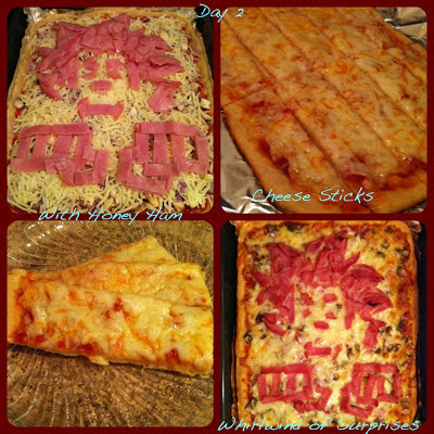 Wreck It Ralph pizza recipes, cheese sticks recipes