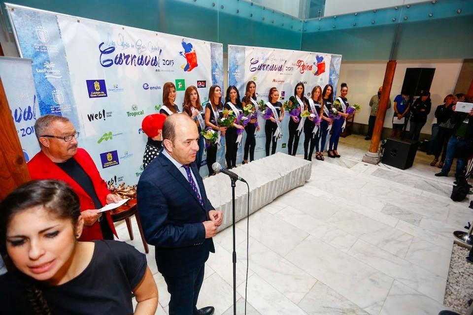 Fotos candidatas Reina Carnaval 2015 Las Palmas de Gran Canaria