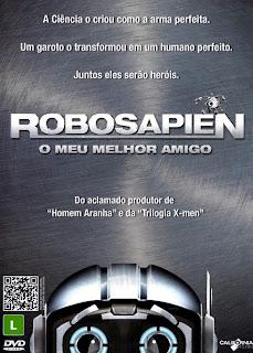 Robosapien: O Meu Melhor Amigo - DVDRip Dual Áudio