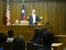 Ninth Graders' Mock Trial