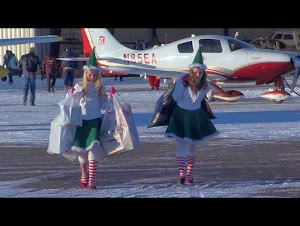 Santa, pilots, volunteers take flight for kids in need