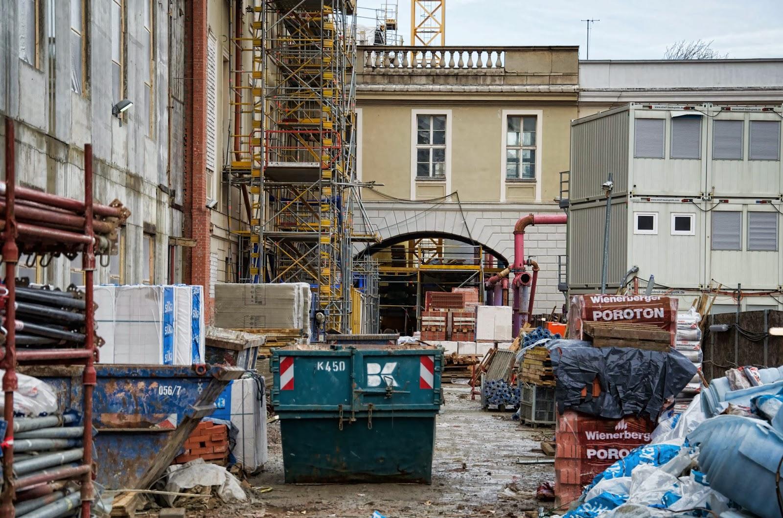 Baustelle Oberwallstraße / Werderscher Markt, 10117 Berlin, 22.12.2013