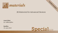 Special Issue on 2D Materials for Advanced devices