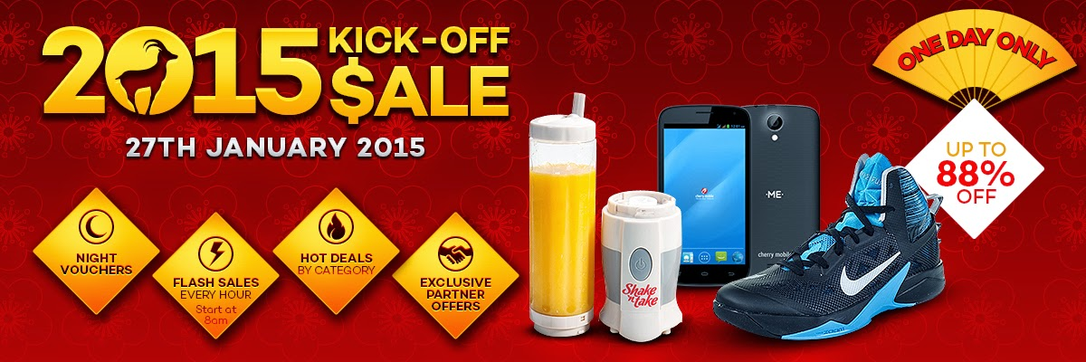 Lazada Chinese New Year Kick-Off Sale 2015