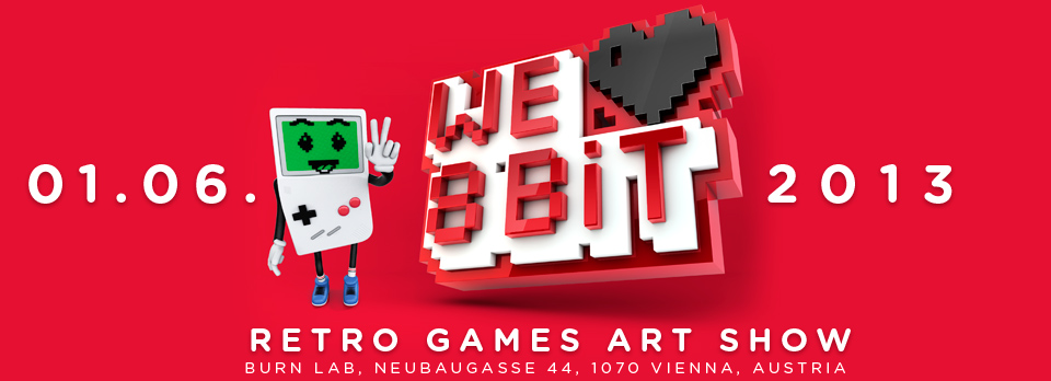 WE  8BIT ART SHOW