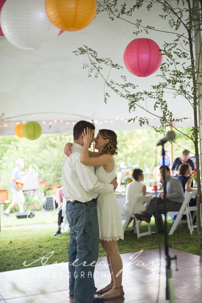 first dance tent