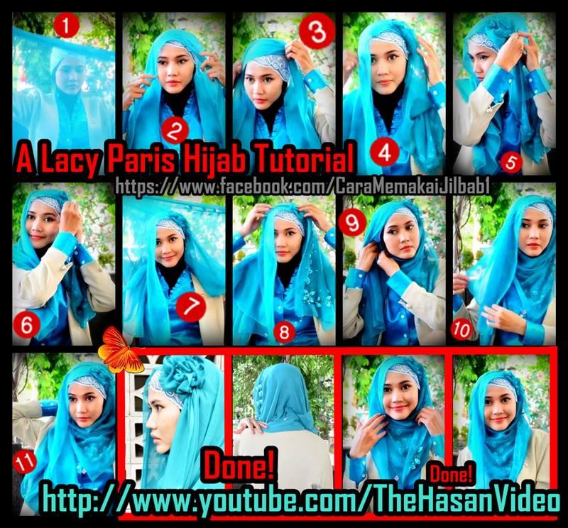 Tutorial Jilbab untuk Hijaber Indonesia: Tutorial Jilbab ...