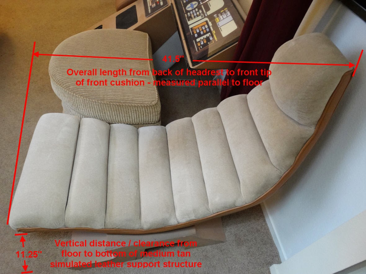 Star Trek: The Experience TNG Ops Chair Measurement Study