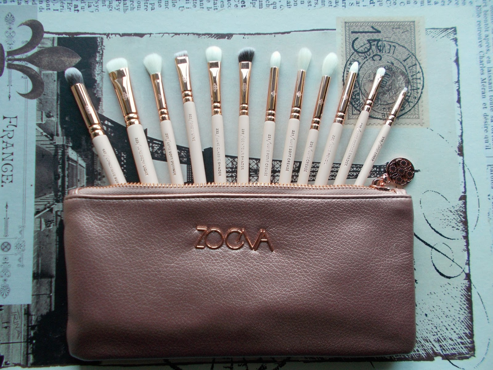 Zoeva Rose Golden Vol. 2 complete eye set review