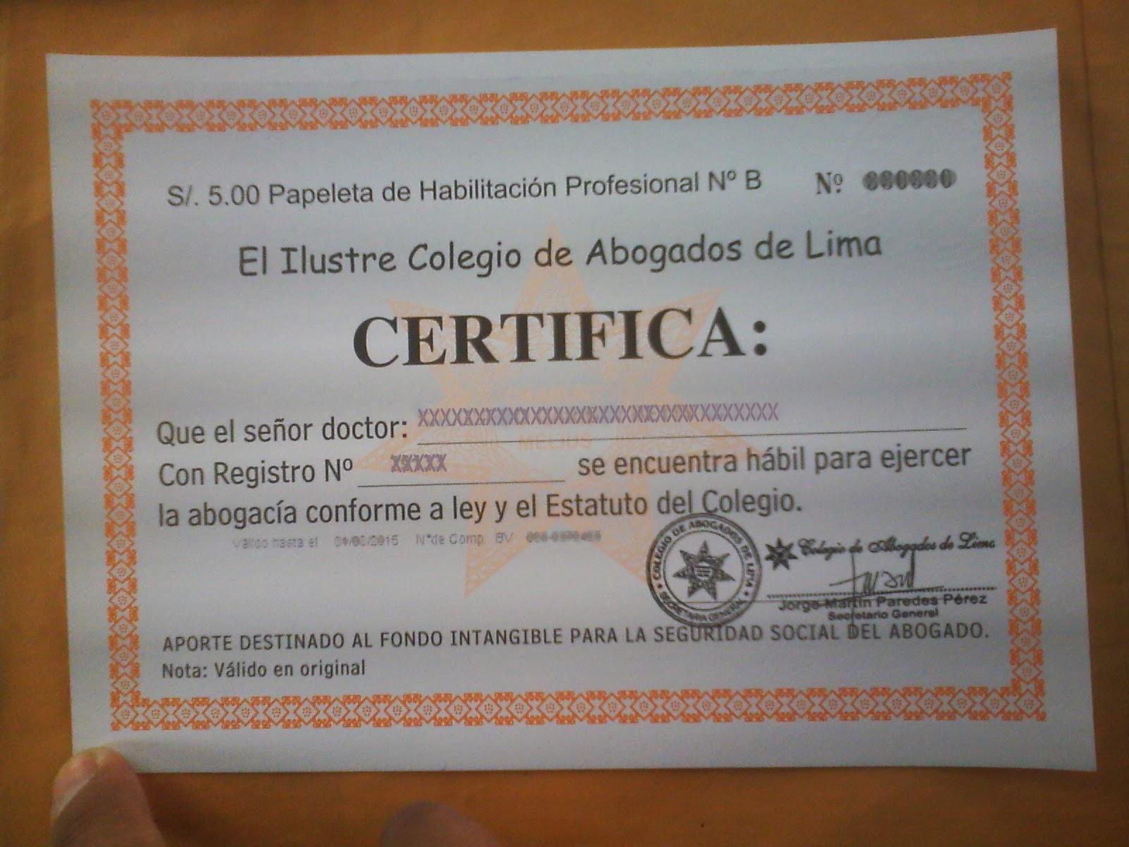 colegio de abogado de venezuela: