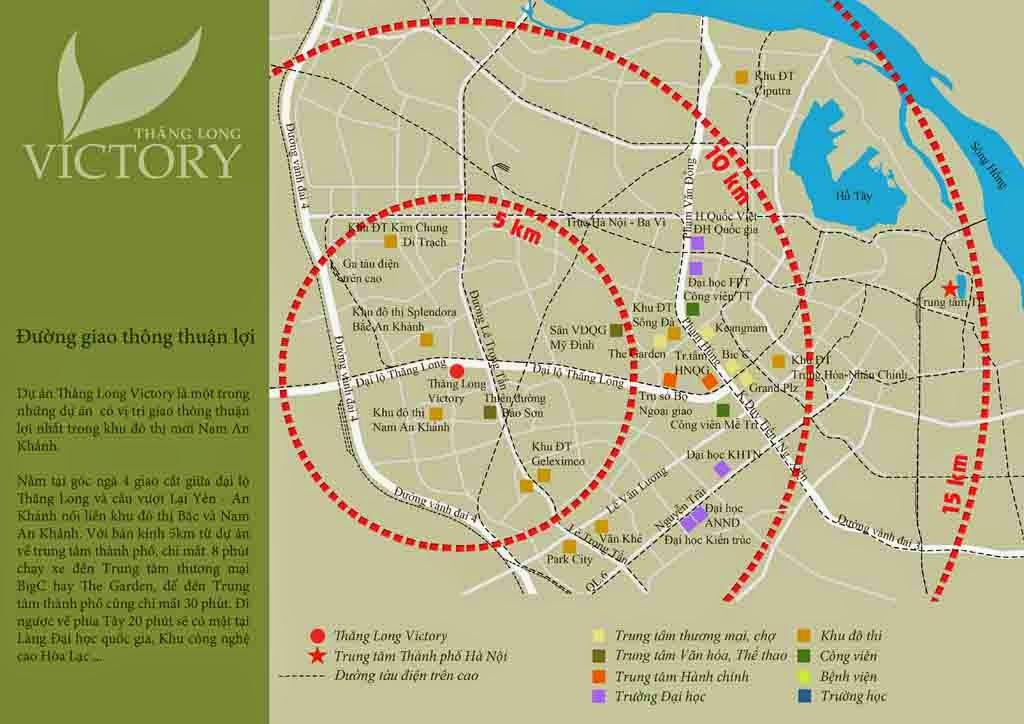 Vị Trí Chung Cư Thăng Long Victory