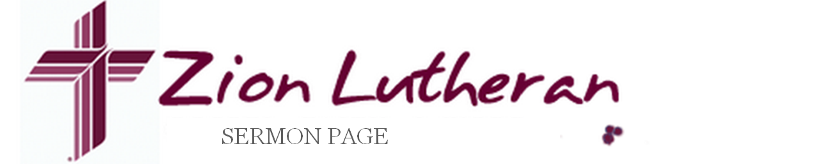 Zion Lutheran Church Sermons