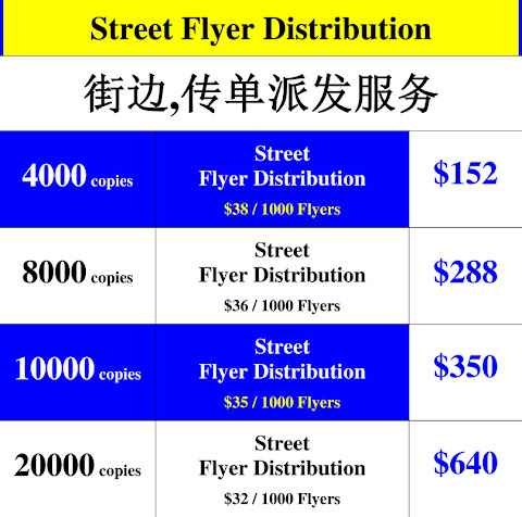 Street Flyer Distribution Singapore