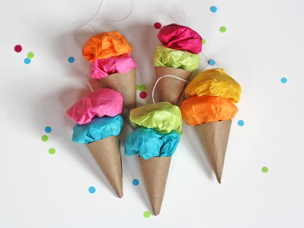 Мороженое с своими руками с бумаги