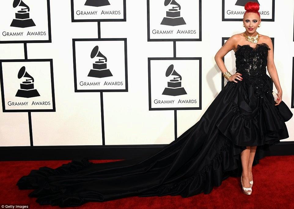 Black Dresses on the Red Carpet