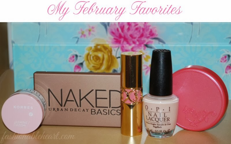 February 2014 beauty favorites