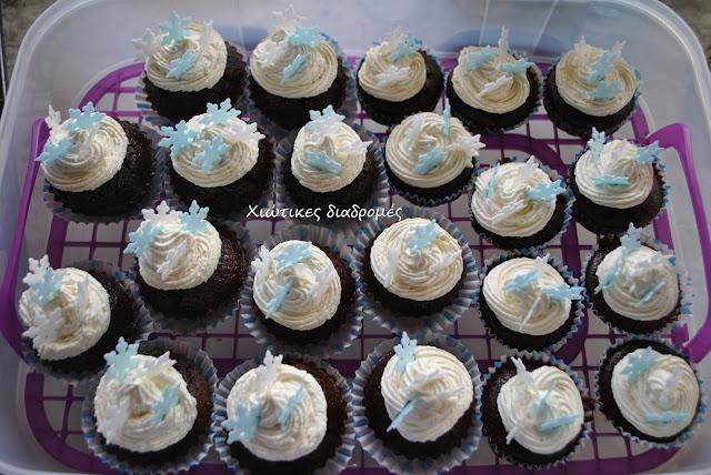 muffins για πάρτι