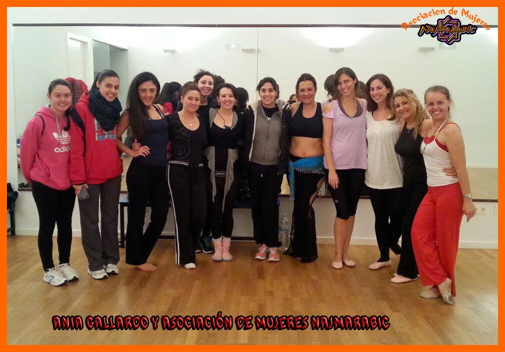 CLASES CON ANIA GALLARDO 2014