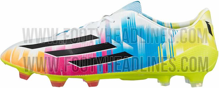 Conocé los nuevos botines adidas de Lio Messi