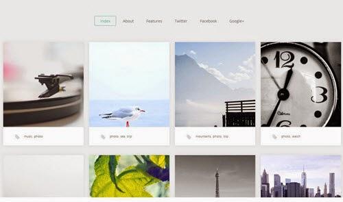 Portfolio Free Photography WordPress Theme