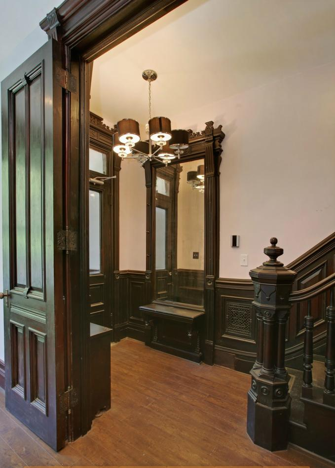 Victorian gothic interior style for New york brownstone interior design