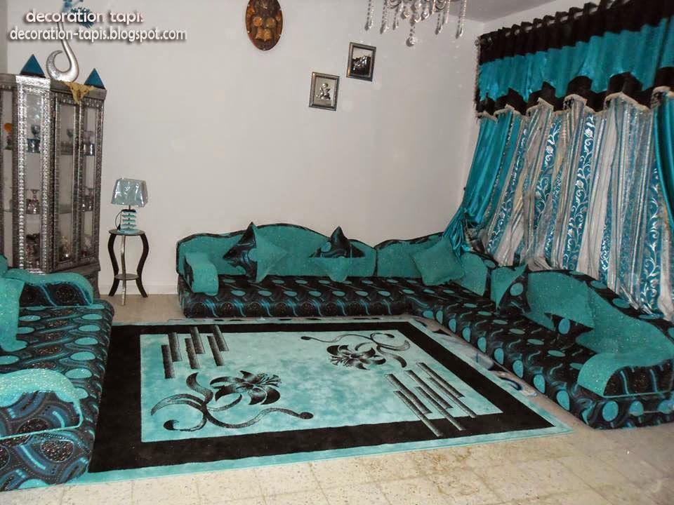 Le boudoir des akhawettes id es de salon de sol majlis for Tapis de sol salon