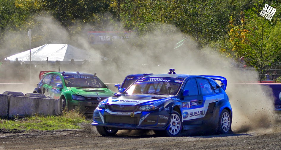 Sverre Isachsen wins the Seattle Red Bull Global Rallycross