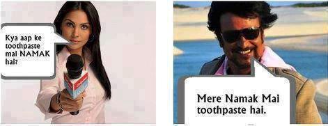 Rajinikanth Jokes on Colgate
