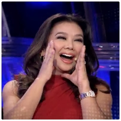 Korina Sanchez plays on Kapamilya Deal or No Deal finale episode