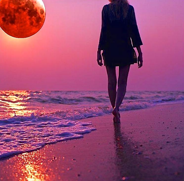 Sanando el alma mensajes de luna roja y eclipse lunar for En q luna estamos hoy