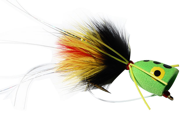 Fishing through life larger poppers that will give you for Fly fishing poppers