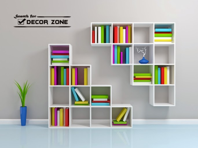 bedroom storage ideas and solutions colorful shelving