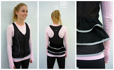 lululemon shine your heart out vest swiftly long sleeve