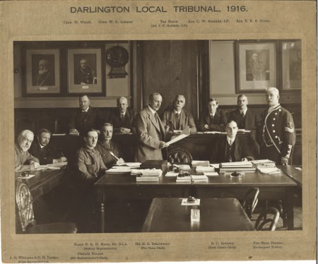 Darlington Local Tribunal, with thanks to the Local Studies Centre, Darlington Library
