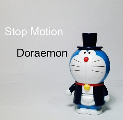 Video Stop Motion Doraemon