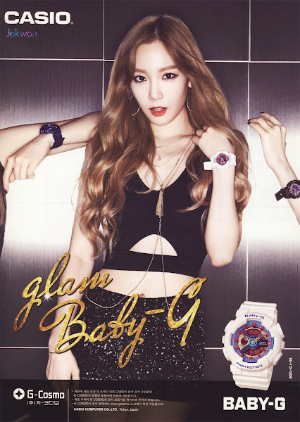 Taeyeon SNSD Baby-G Glam 2014